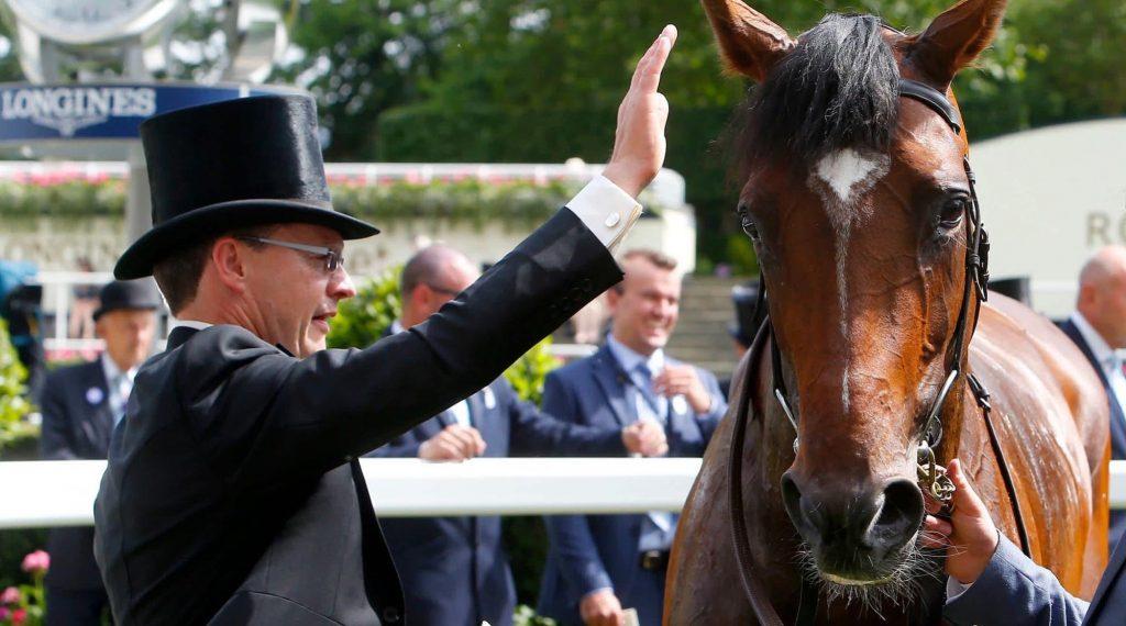 Aidan O'Brien at Royal Ascot