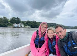 Trainer Kirby and family rescued by emergency services