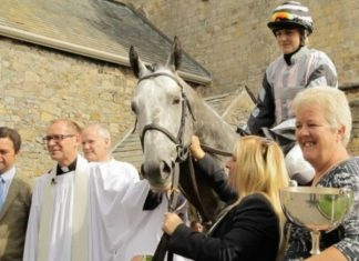 A special church service is held on August 29, at Cartmel's 800-year-old Priory.