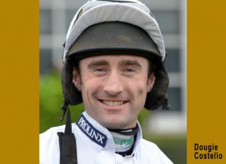 Dougie Costello rode tip Mark's Choice to Ripon victory.
