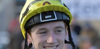 David Egan rode Title to victory at Doncaster St Leger meeting.